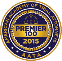 AATA Award, Premier 100 Attorneys